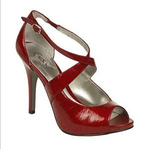 Carlos Santana Red Believe 2 Red Stiletto Heels 7